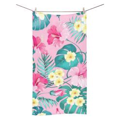 """flowers Bath Towel 30""""x56"""""""