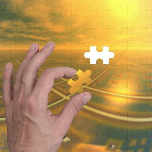Big Brass Ones 1000-Piece Wooden Photo Puzzles