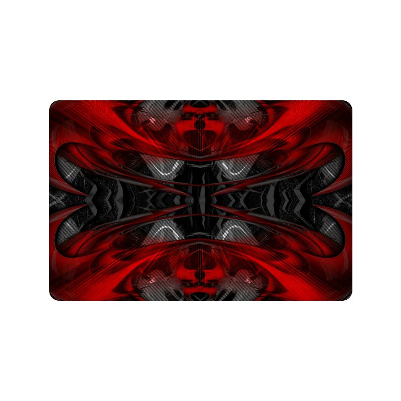 """xxsml Red Rave Crew Doormat 24""""x16"""""""