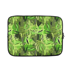 Tropical Jungle Leaves Camouflage Custom Sleeve for Laptop 15.6""