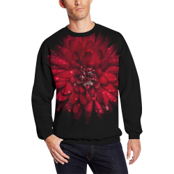 Backyard Flowers 45 Color Version All Over Print Crewneck Sweatshirt for Men (Model H18)