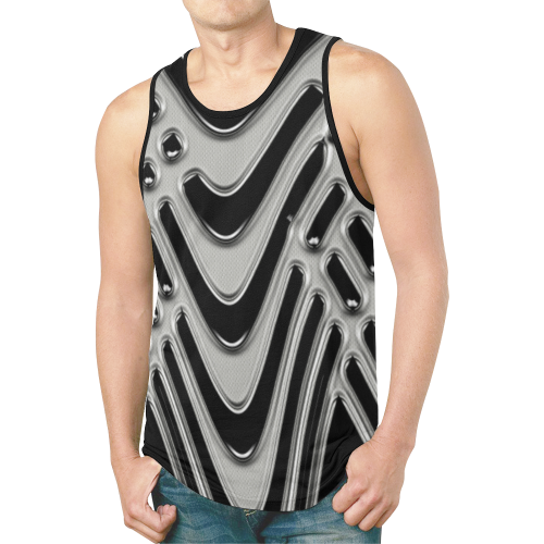 abstract_5500_2019_RBW_38h New All Over Print Tank Top for Men (Model T46)