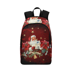 Santa Claus with gifts, vintage Fabric Backpack for Adult (Model 1659)