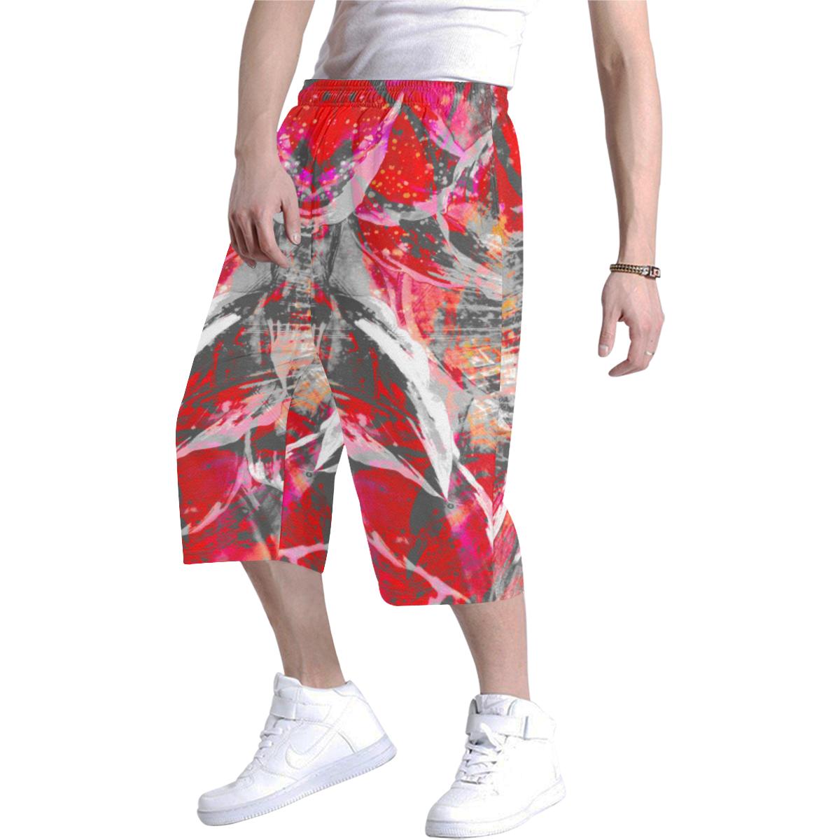 wheelVibe_vibe33 Men's All Over Print Baggy Shorts (Model L37)