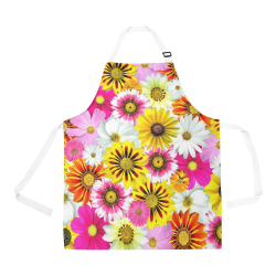 Spring Time Flowers 1 All Over Print Apron