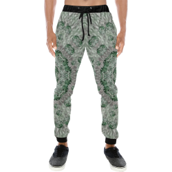 wonderful dots and festive elegant glamorous look Men's All Over Print Sweatpants (Model L11)