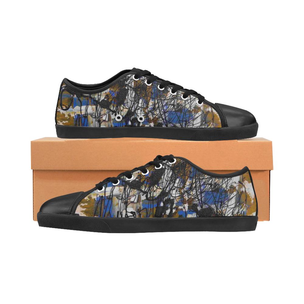 Dreams I Women's Canvas Shoes (Model 016)