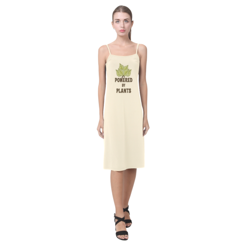 Powered by Plants (vegan) Alcestis Slip Dress (Model D05)