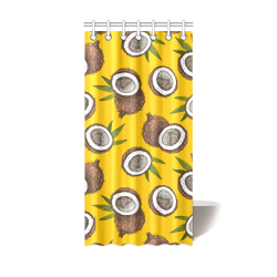 "coconuts Shower Curtain 36""x72"""