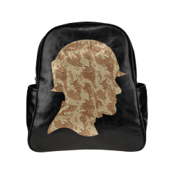 Desert Camouflage  Soldier Multi-Pockets Backpack (Model 1636)