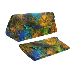 squiggly abstract C by JamColors Custom Foldable Glasses Case