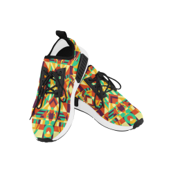Modern Geometric Pattern Men's Draco Running Shoes (Model 025)