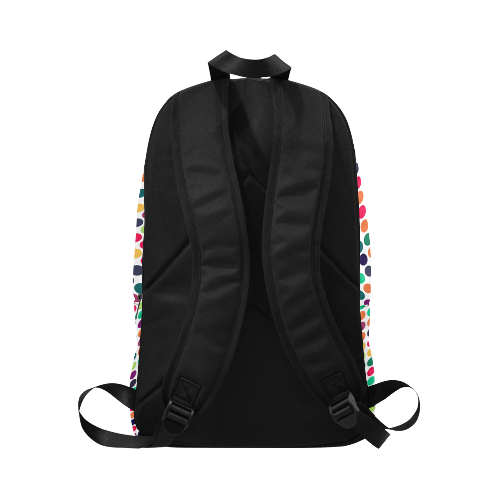 dots Fabric Backpack for Adult (Model 1659)