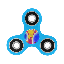 The Lowest of Low Starry Space Goat Fidget Spinner