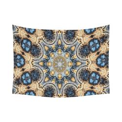 """Yanflake mandala Cotton Linen Wall Tapestry 80""""x 60"""""""