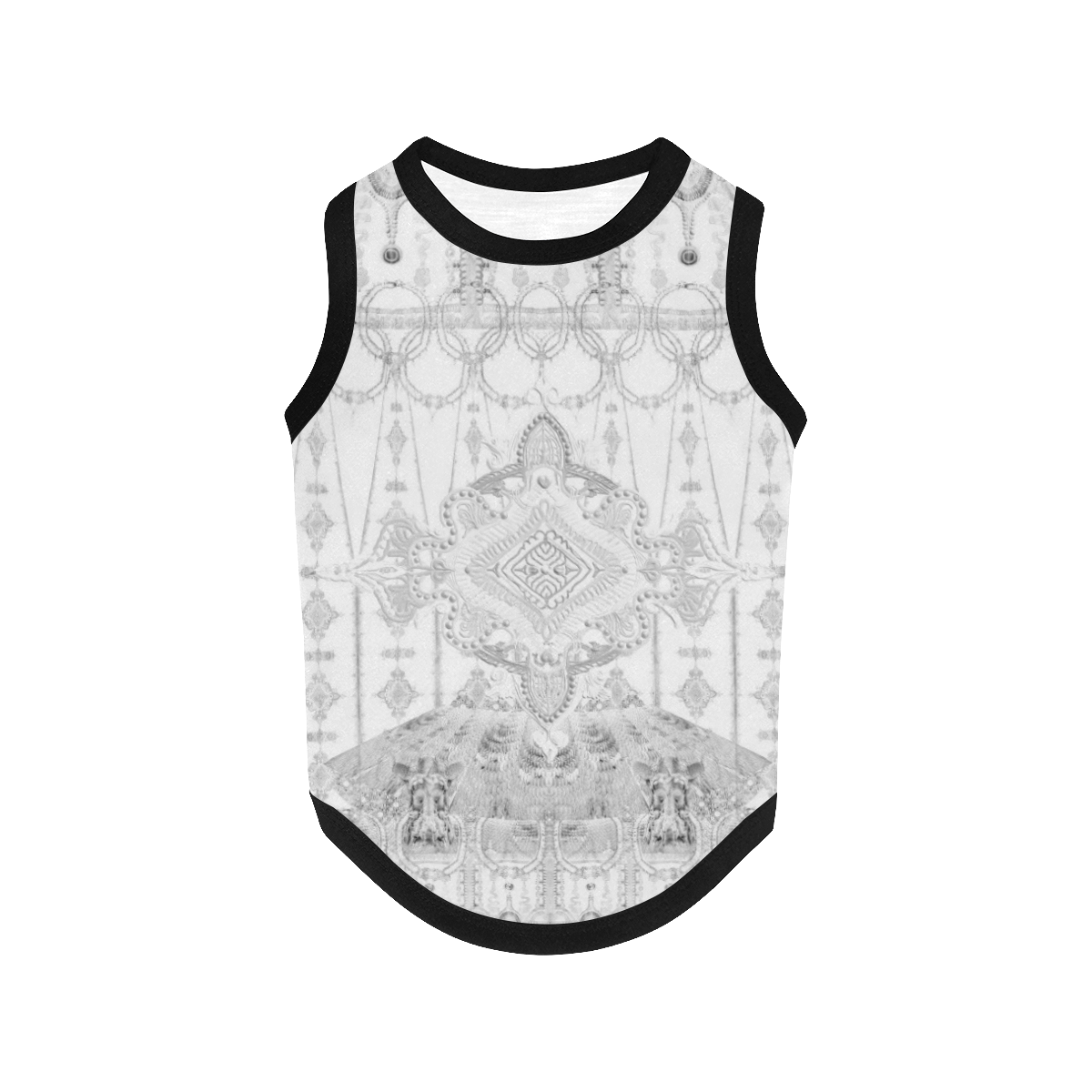 haute couture 20 All Over Print Pet Tank Top