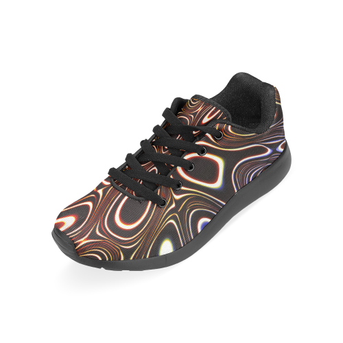 Blast-o-Blob #1 Red-Tint by Jera Nour Women's Running Shoes (Model 020)