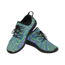 70s chic 2 Grus Women's Breathable Woven Running Shoes (Model 022)