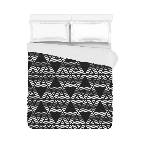 """Polka Dots Party Duvet Cover 86""""x70"""" ( All-over-print)"""