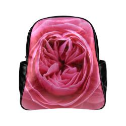 Rose Fleur Macro Multi-Pockets Backpack (Model 1636)