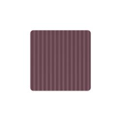 Maroon Stripes Square Coaster