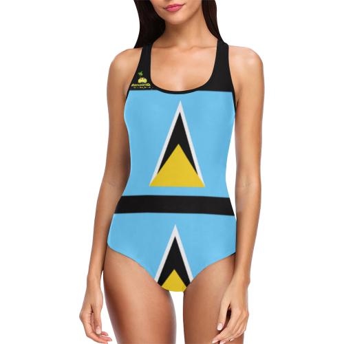 manusartgnd Vest One Piece Swimsuit (Model S04)