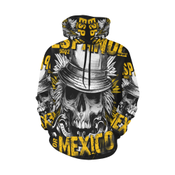 Espanhol for Mexico All Over Print Hoodie for Men (USA Size) (Model H13)