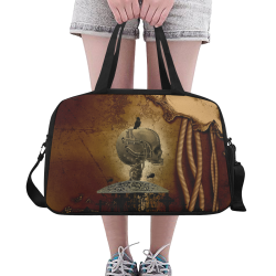 Mechanical skull Fitness Handbag (Model 1671)