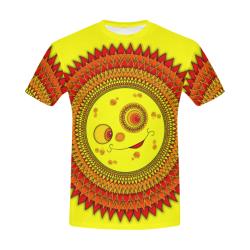 JUNGLEBIRDY - SUN OF JUNGLEBIRDY T-SHIRT All Over Print T-Shirt for Men (USA Size) (Model T40)