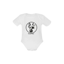 Brava Hund Pirate Baby Powder Organic Short Sleeve One Piece (Model T28)