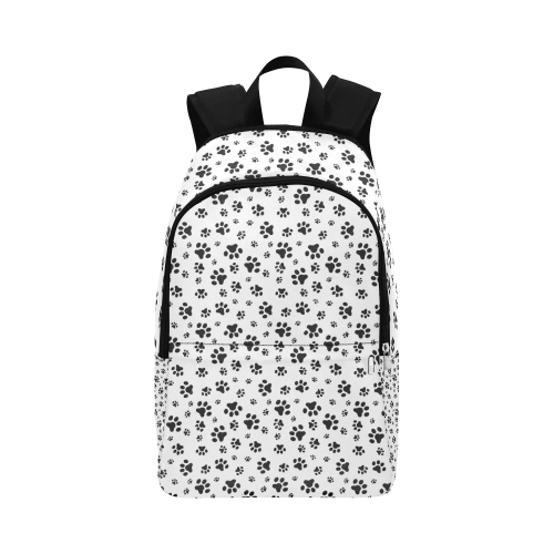 pet paws Fabric Backpack for Adult (Model 1659)
