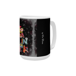 Atlanta Fun by Nico Bielow Custom Ceramic Mug (15OZ)