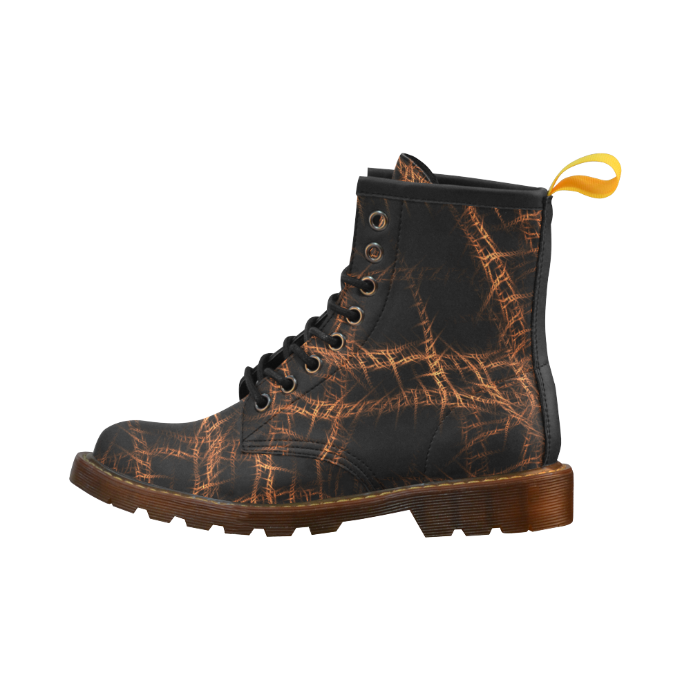 Trapped High Grade PU Leather Martin Boots For Men Model 402H