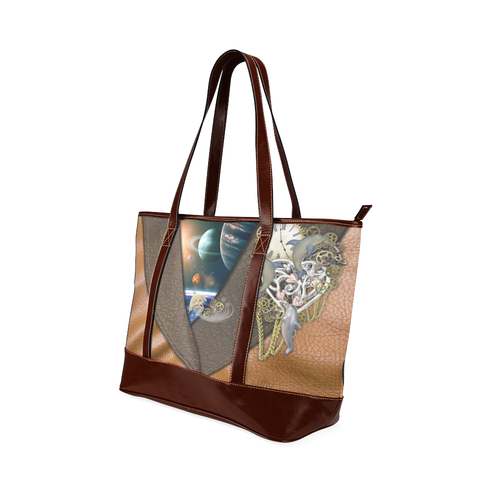 our dimension of Time Tote Handbag (Model 1642)