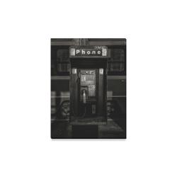 "Phone Booth No 13 Canvas Print 12""x16"""