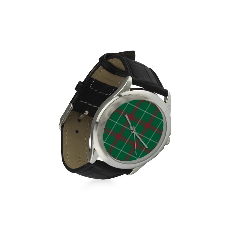 Welsh National Tartan Women's Classic Leather Strap Watch(Model 203)