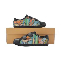 Affections Velcro Canvas Kid's Shoes (Model 008)