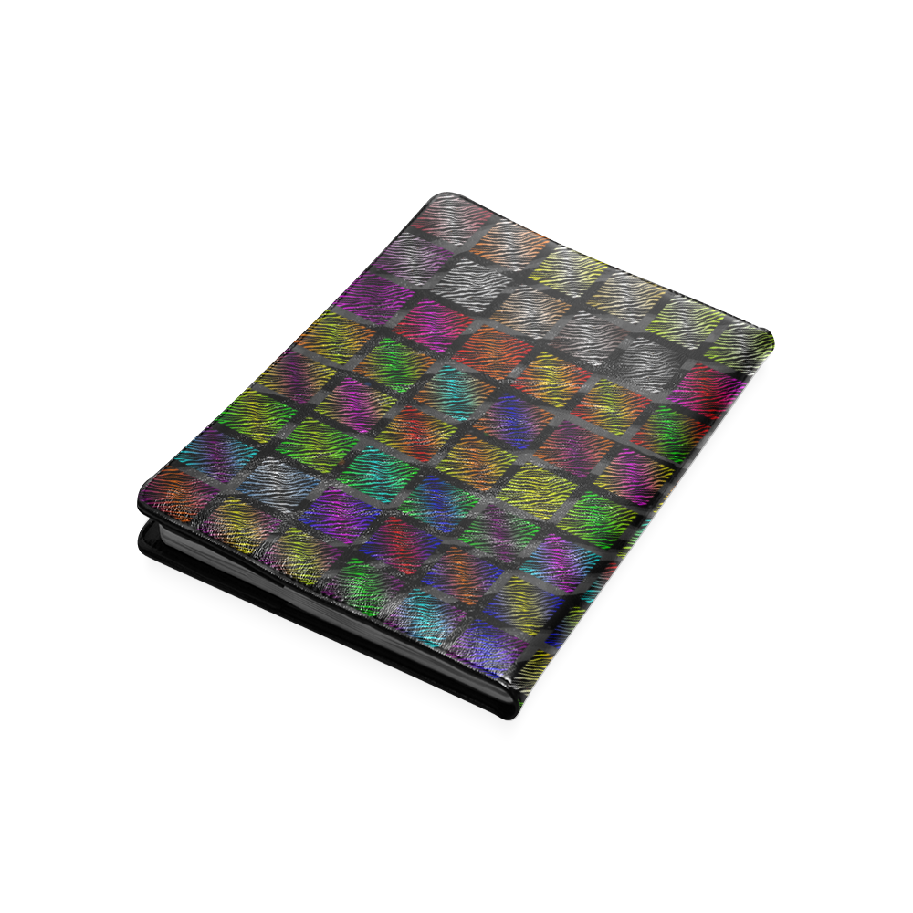 Ripped SpaceTime Stripes Collection Custom NoteBook B5