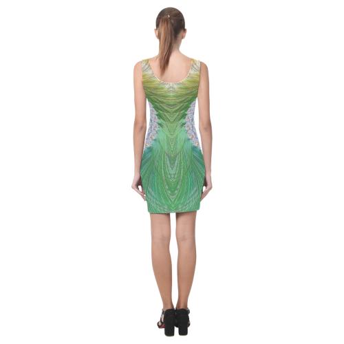 Frax Fractal Rainbow Medea Vest Dress (Model D06)