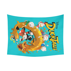 "DuckTales Cotton Linen Wall Tapestry 80""x 60"""