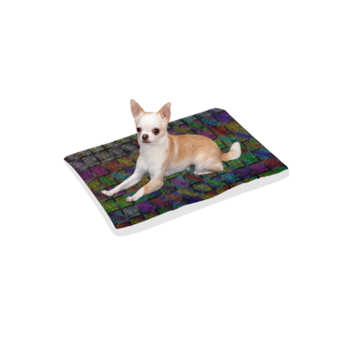 """Ripped SpaceTime Stripes Collection Pet Bed 22""""x13"""""""
