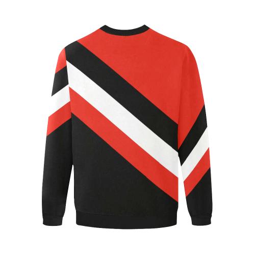 jockey Men's Oversized Fleece Crew Sweatshirt (Model H18)