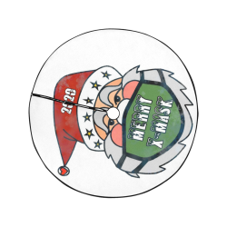 "X Mask Christmas by Nico Bielow Christmas Tree Skirt 47"" x 47"""