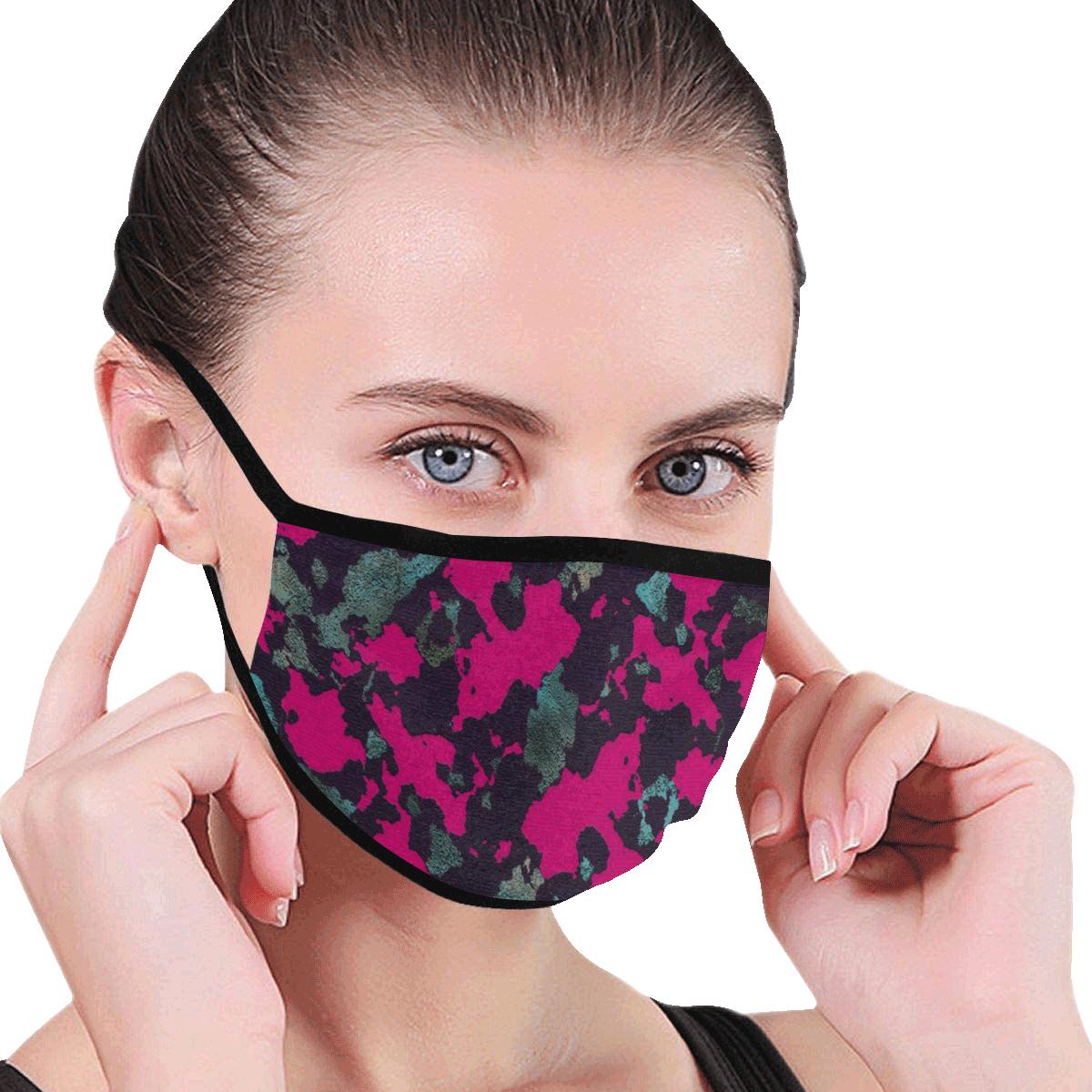 CAMOUFLAGE BLACKBERRY MASK Mouth Mask
