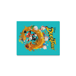 "DuckTales Canvas Print 14""x11"""