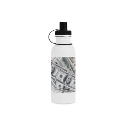 Cash Money / Hundred Dollar Bills Manchester Sports Bottle(22OZ)