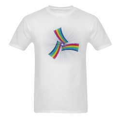 Pride by Popartlover Men's T-shirt in USA Size (Two Sides Printing) (Model T02)