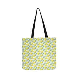Lemons And Butterfly Reusable Shopping Bag Model 1660 (Two sides)