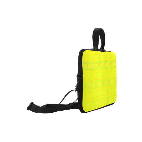 """Yellow multicolored multiple squares Classic Sleeve for 15.6"""" MacBook Air"""