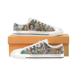 animal's love Women's Classic Canvas Shoes (Model 018)